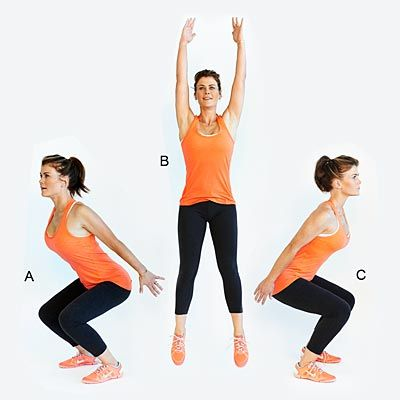 Jump Squats exercise