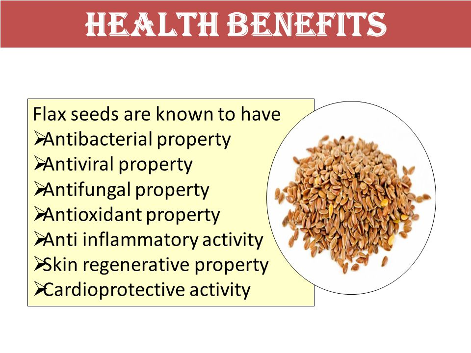 Nutritional Advantages Provided By Flax Seeds