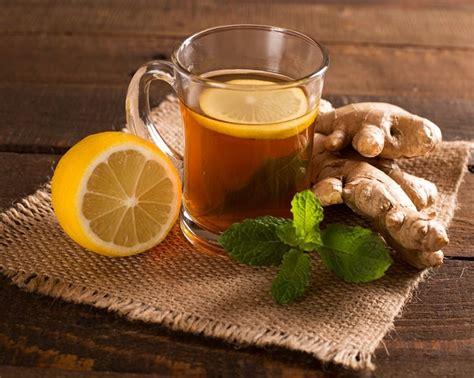 Homemade detox tea